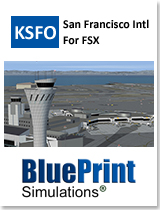 BLUEPRINT - KSFO SAN FRANCISCO INTERNATIONAL FSX