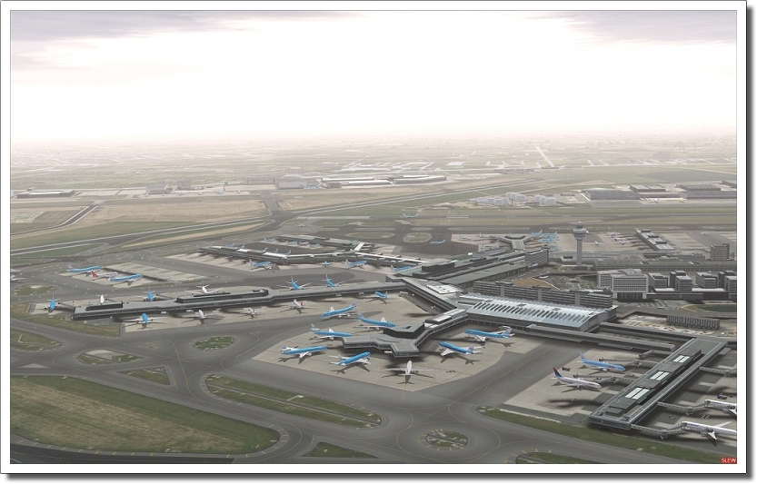 AEROSOFT - MEGA AIRPORT AMSTERDAM X (DOWNLOAD)