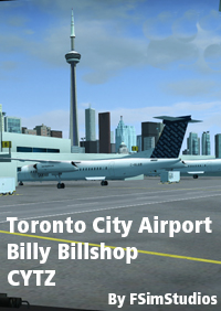 FSIMSTUDIOS - BILLY BISHOP TORONTO CITY AIRPORT CYTZ FSX P3D