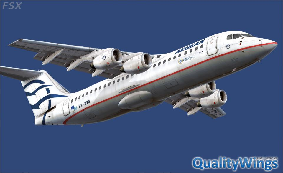 FLIGHT 1 - QUALITYWINGS SIMULATIONS - THE ULTIMATE 146 COLLECTION FSX P3D