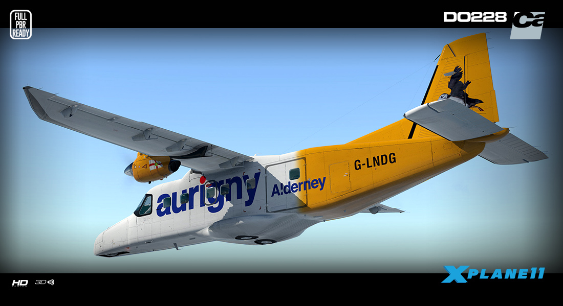 CARENADO - DO228 100 HD SERIES X-PLANE 11