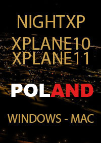 TABURET - NIGHT XP POLAND X-PLANE 10/11