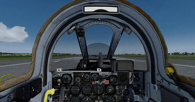 SIM SKUNK WORKS - REPUBLIC F-84 F THUNDERSTREAK FOR P3D V 4.X