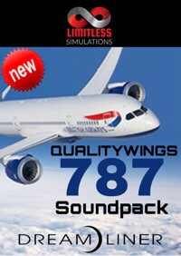 LIMITLESS SIMULATIONS - QUALITYWINGS 787 COCKPIT SOUNDPACK P3D4-5