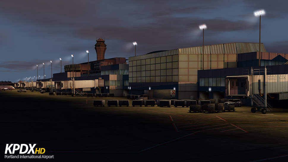 FLIGHTBEAM STUDIOS - KPDX - PORTLAND INTERNATIONAL AIRPORT P3Dv4