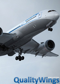 FLIGHT 1 - QUALITYWINGS ULTIMATE 787™ 典藏版 PREPAR3D V4 (64位)
