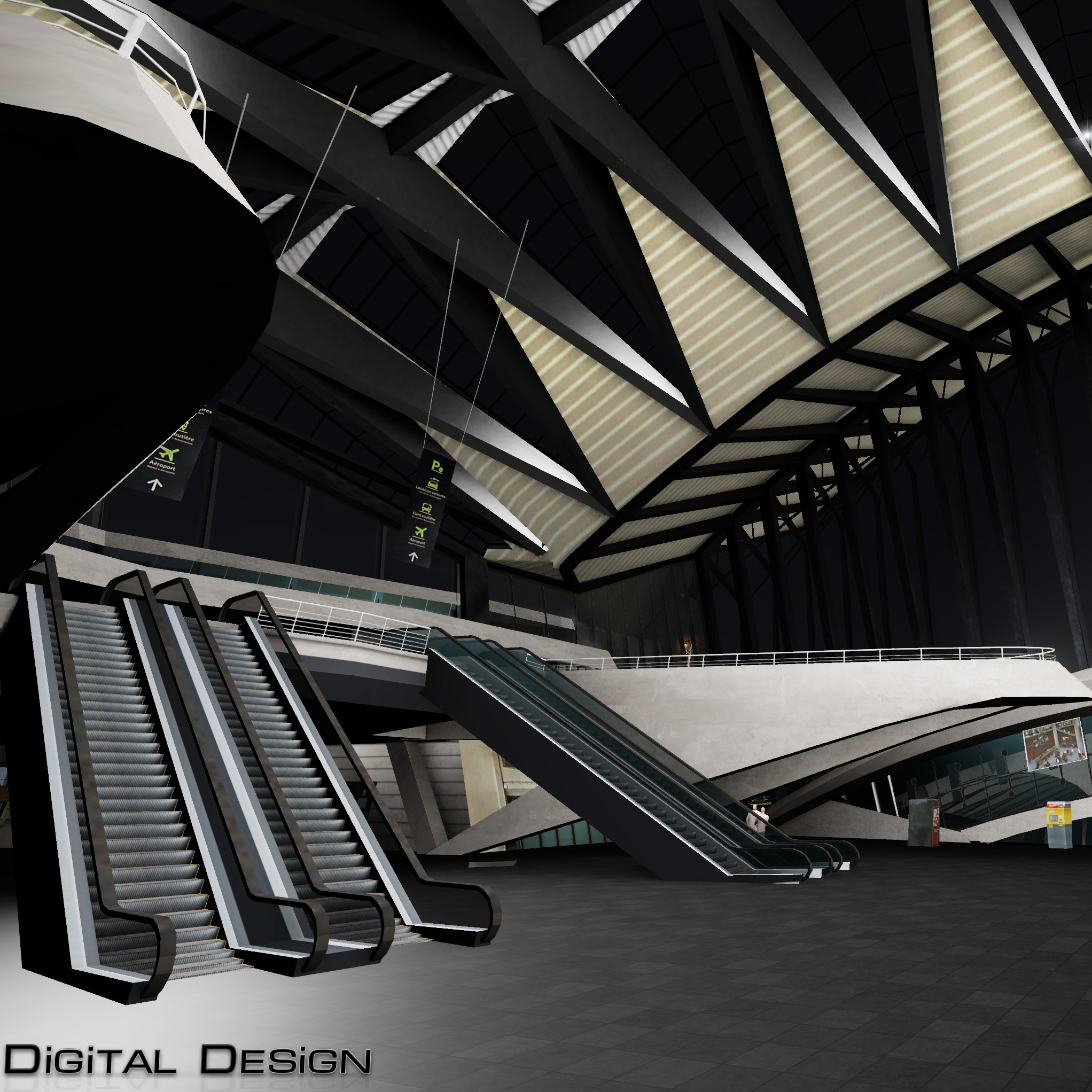 DIGITAL DESIGN - LYON-SAINT EXUPERY P3D