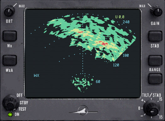 CAPTAIN SIM - WEATHER RADAR