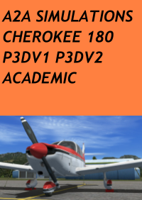 A2A SIMULATIONS - CHEROKEE 180 P3D ACADEMIC