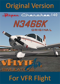 vFlyteAir - PIPER CHEROKEE 140 ORIGINAL VERSION X-PLANE 10