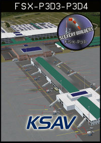 FSXCENERY -   KSAV SAVANNAH/HILTON HEAD INTERNATIONAL AIRPORT FSX P3D