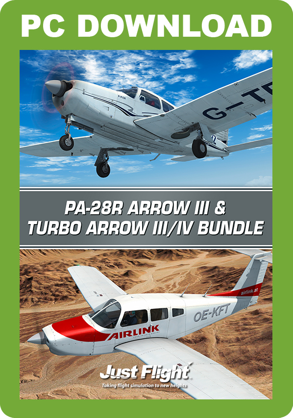 JUSTFLIGHT - PA-28R ARROW III & TURBO ARROW III IV BUNDLE FSX P3D