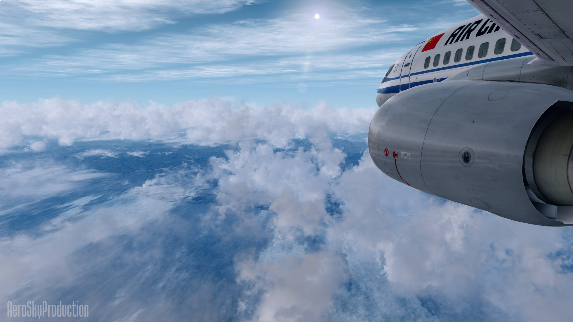 AEROSKY PRODUCTION - COZY UNIVERSAL CLOUD FSX P3D