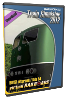 VIRTUAL RAILROADS - BR151 GREEN / KDS54