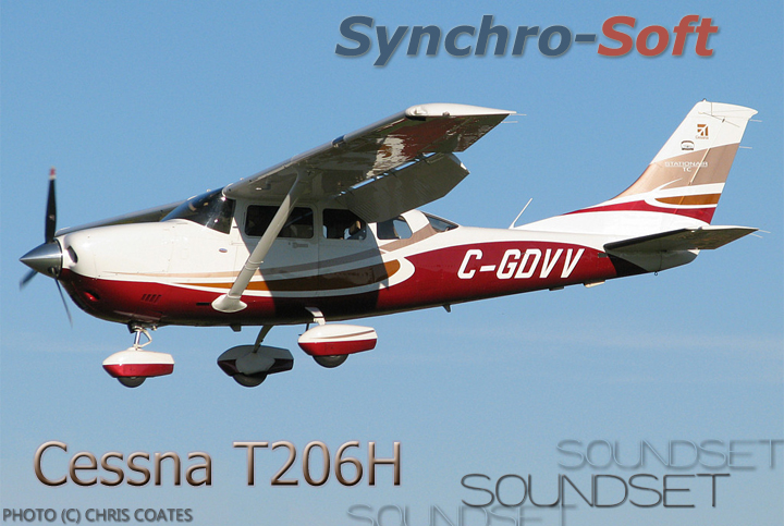 SYNCHRO-SOFT - T206H STATIONAIR SOUNDSET FSX