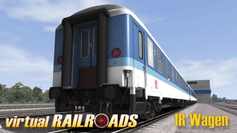 VIRTUAL RAILROADS - DB BR103 ORIENT RED LONG VERSION WITH INTERREGIO CARS