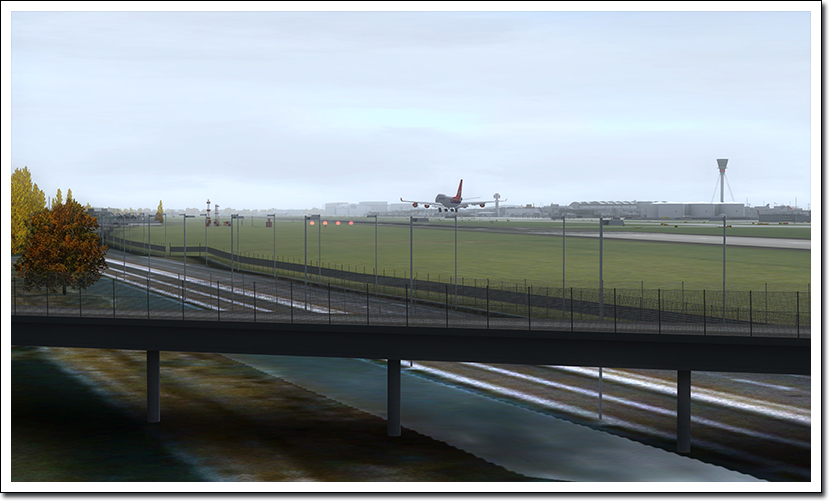 AEROSOFT - MEGA AIRPORT LONDON HEATHROW XTENDED FSX P3D FS2004