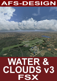 AFS-DESIGN - WATER & CLOUDS 3 FSX