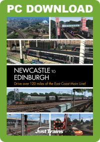 JUSTTRAINS - NEWCASTLE TO EDINBURGH