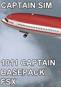 CAPTAIN SIM - 1011 CAPTAIN BASEPACK FSX