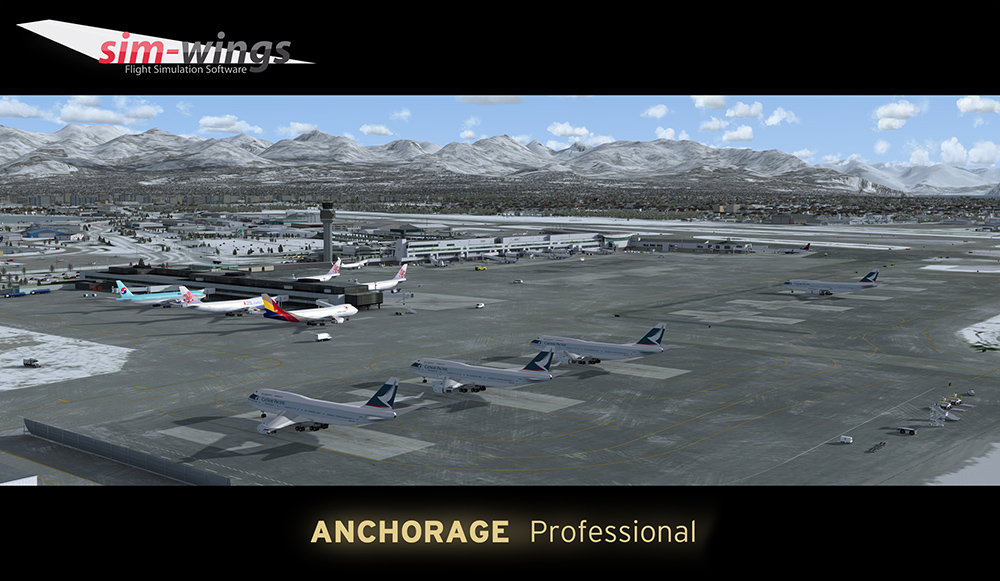 AEROSOFT - ANCHORAGE PROFESSIONAL P3D