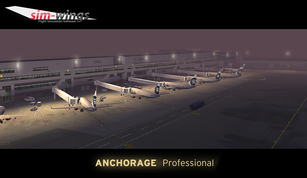 AEROSOFT - ANCHORAGE PROFESSIONAL P3D4