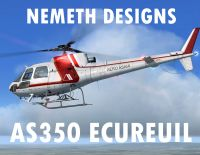NEMETH DESIGNS - AEROSPATIALE AS350 ECUREUIL FSX