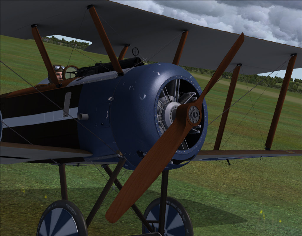 JUSTFLIGHT - RARA-AVIS SIM SOPWITH PUP - BASE PACK