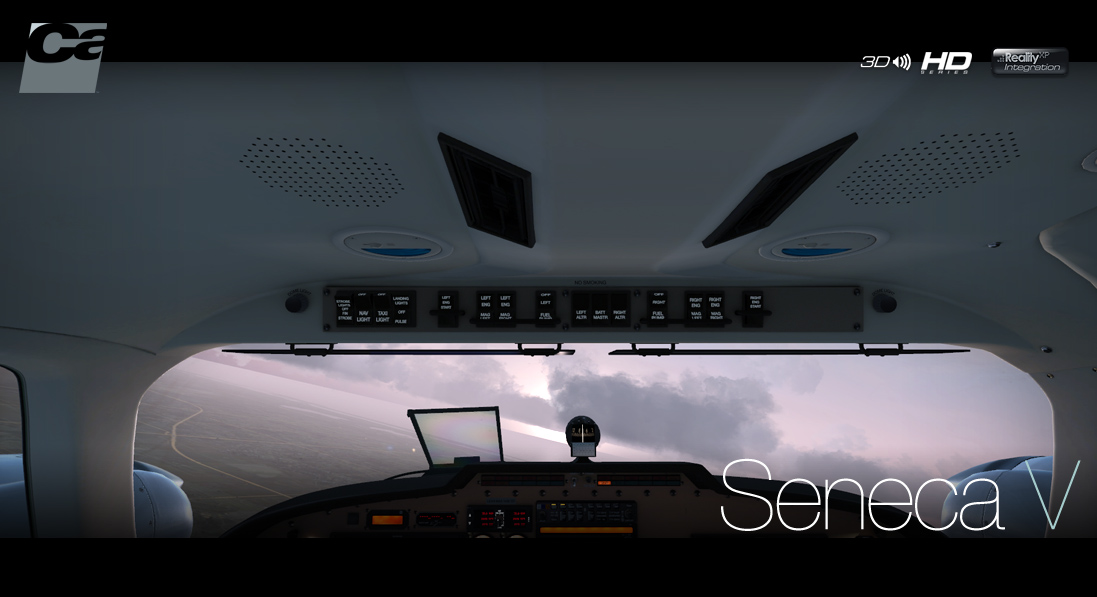CARENADO - PA34 SENECA V HD SERIES FSX P3D