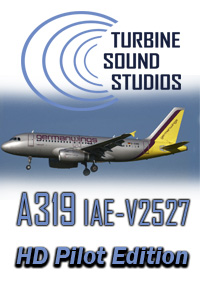TURBINE SOUND STUDIOS - AIRBUS A319 HD IAE-V2527 PILOT EDITION SOUNDPACK FS2004