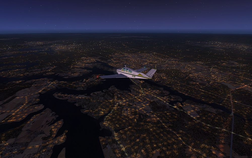 TABURET - FSX P3D NIGHT 3D ARKANSAS LOUISIANA TENNESSEE
