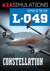 A2A SIMULATIONS - CAPTAIN OF THE SHIP 049 CONSTELLATION FSX ENTERTAINMENT
