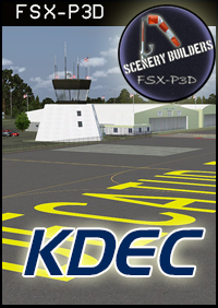 FSXCENERY -   KDEC DECATUR AIRPORT FSX P3D