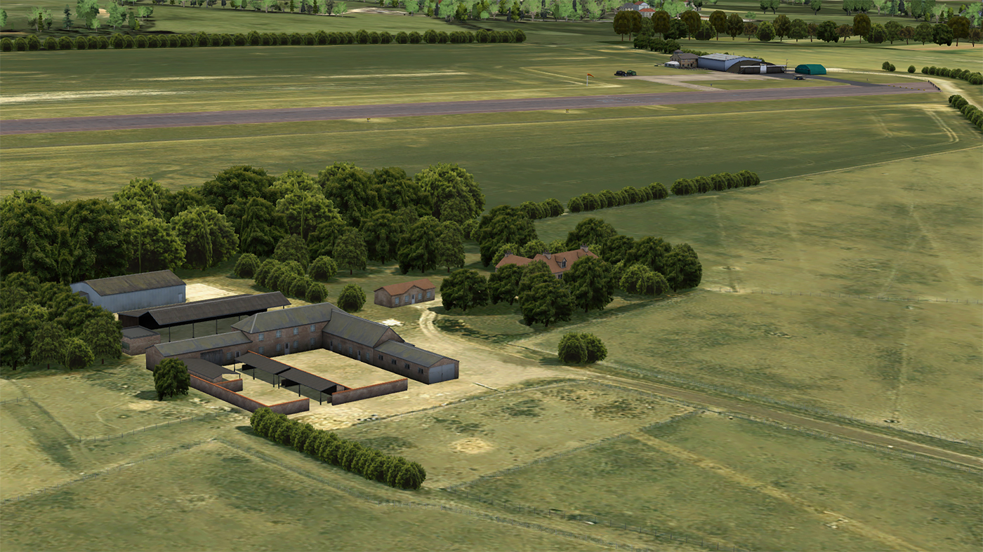 JUSTFLIGHT - CONINGTON AIRFIELD FSX P3D