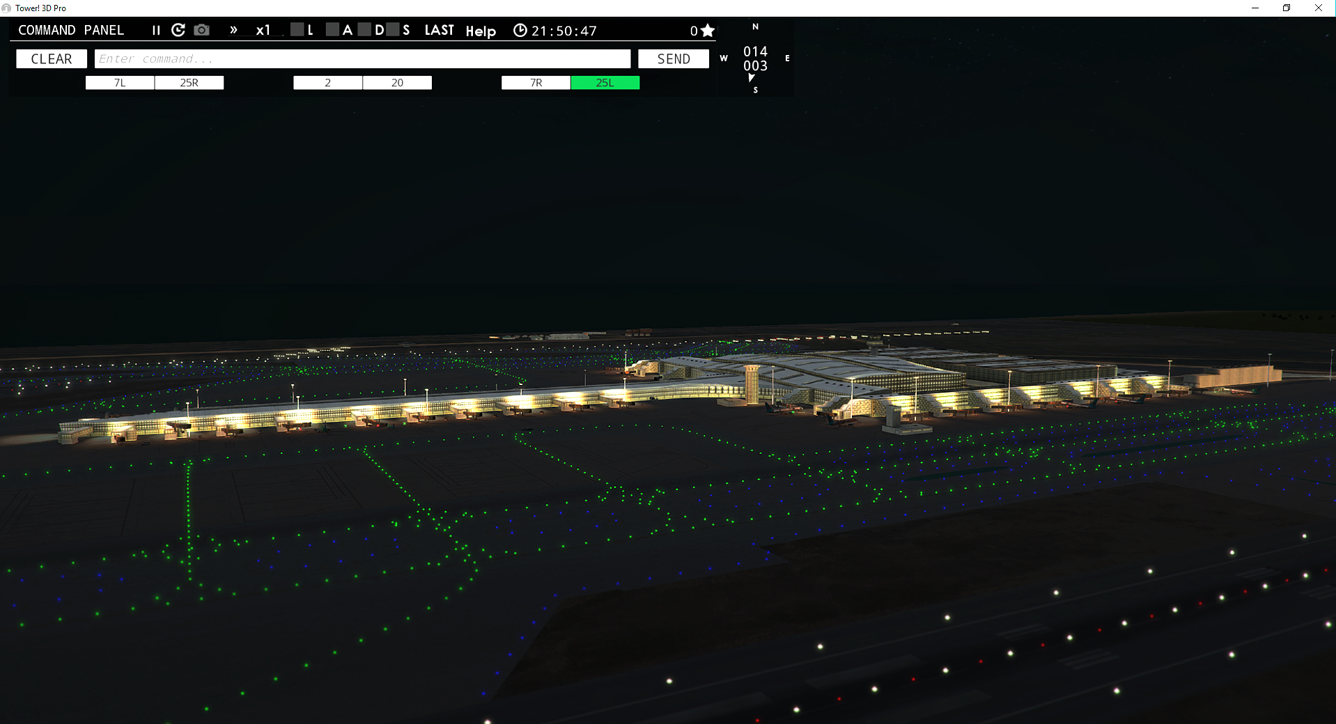 NYERGES DESIGN - LEBL AIRPORT FOR TOWER! 3D