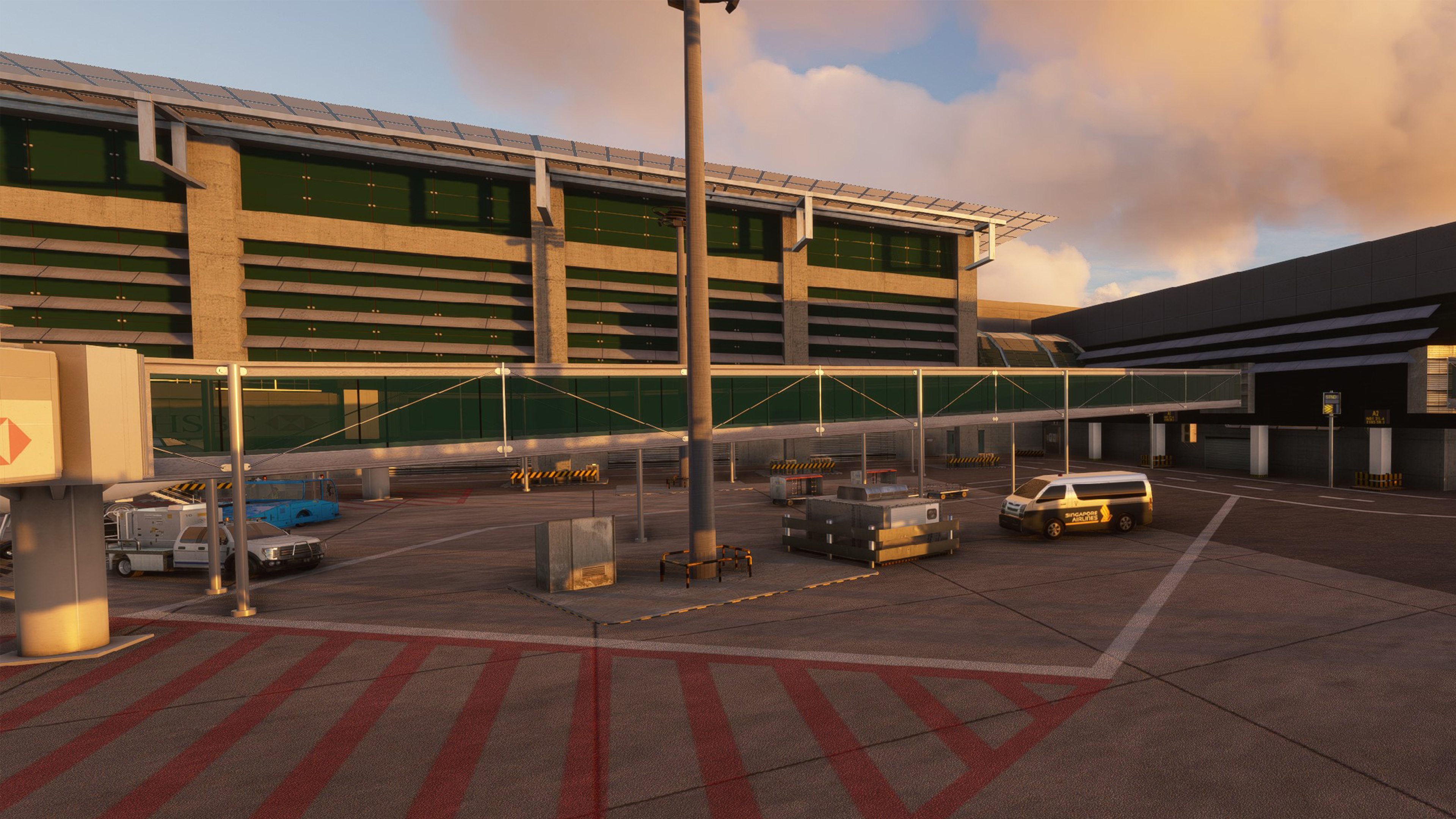 CLOUDSURF ASIA SIMULATIONS - WSSS SINGAPORE CHANGI AIRPORT MSFS