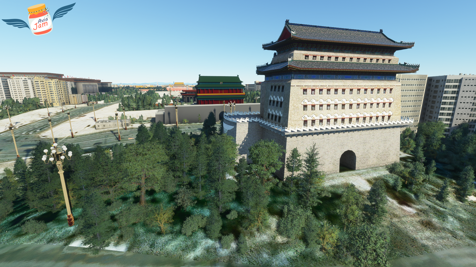 AVIAJAM PRODUCTION - BEIJING LANDMARKS - MSFS
