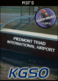 FSXCENERY -  KGSO PIEDMONT TRIAD INTERNATIONAL AIRPORT MSFS