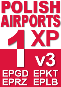 DRZEWIECKI DESIGN - POLISH AIRPORTS VOL1 XP (V3) - X-PLANE 11