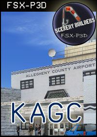 FSXCENERY - KAGC ALLEGHENY COUNTY AIRPORT FSX P3D