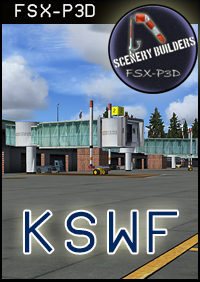 FSXCENERY -  KSWF STEWART INTERNATIONAL AIRPORT FSX P3D