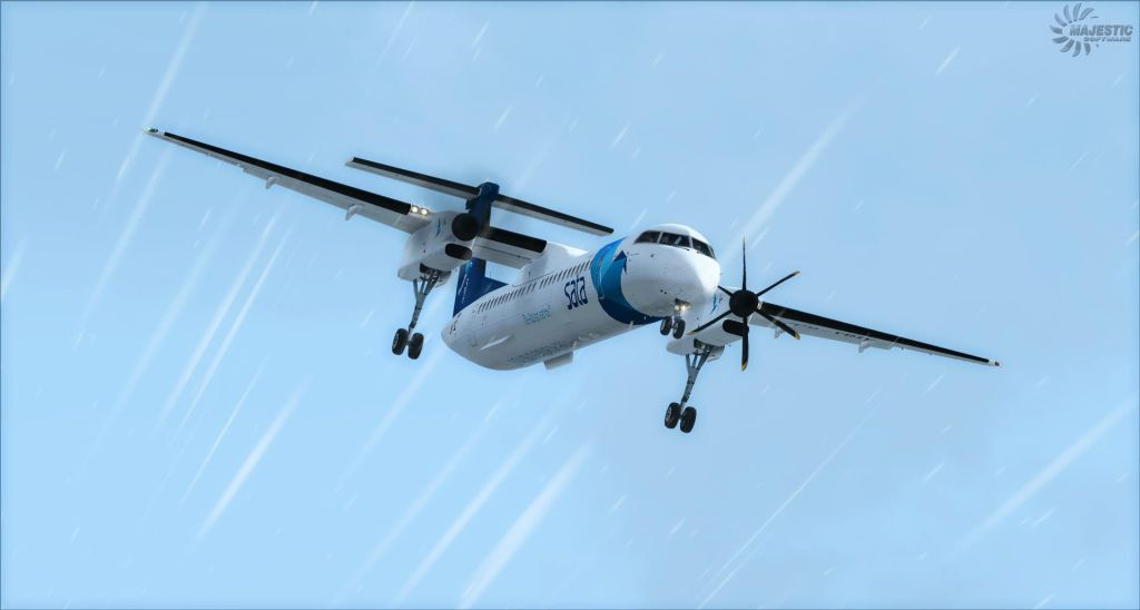 MAJESTIC SOFTWARE - DASH 8 Q400 PRO EDITION 64BIT 冲8 Q400 涡桨支线客机 专业版 64位 P3D