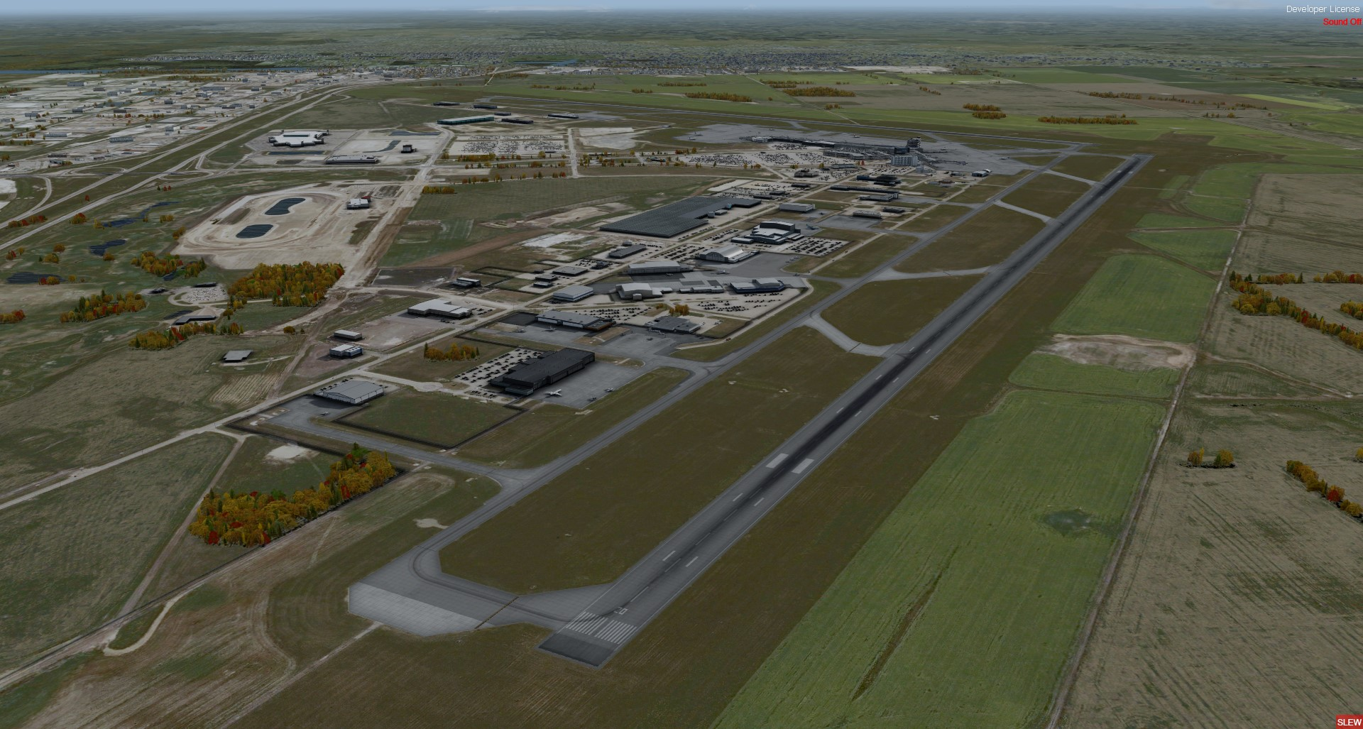 FSIMSTUDIOS - EDMONTON INTERNATIONAL AIRPORT - CYEG P3D V4.4+
