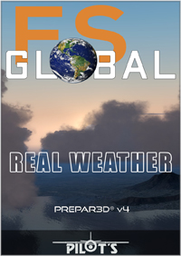 PILOT'S FSG - FS GLOBAL REAL WEATHER PREPAR3D V4 EDITION