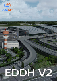 JUSTSIM - HAMBURG AIRPORT V2 - FOR P3D V4.4+