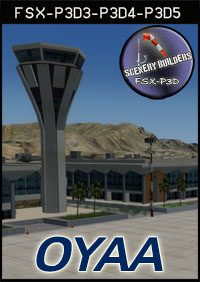 FSXCENERY - OYAA ADEN INTERNATIONAL AIRPORT FSX P3D