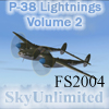 SU - LEGACY OF THE SKY: P-38 LIGHTNINGS OF WWII VOL.2