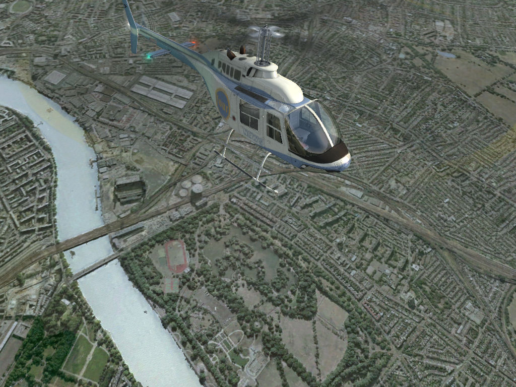 JUSTFLIGHT - VFR REAL SCENERY - LONDON FSX