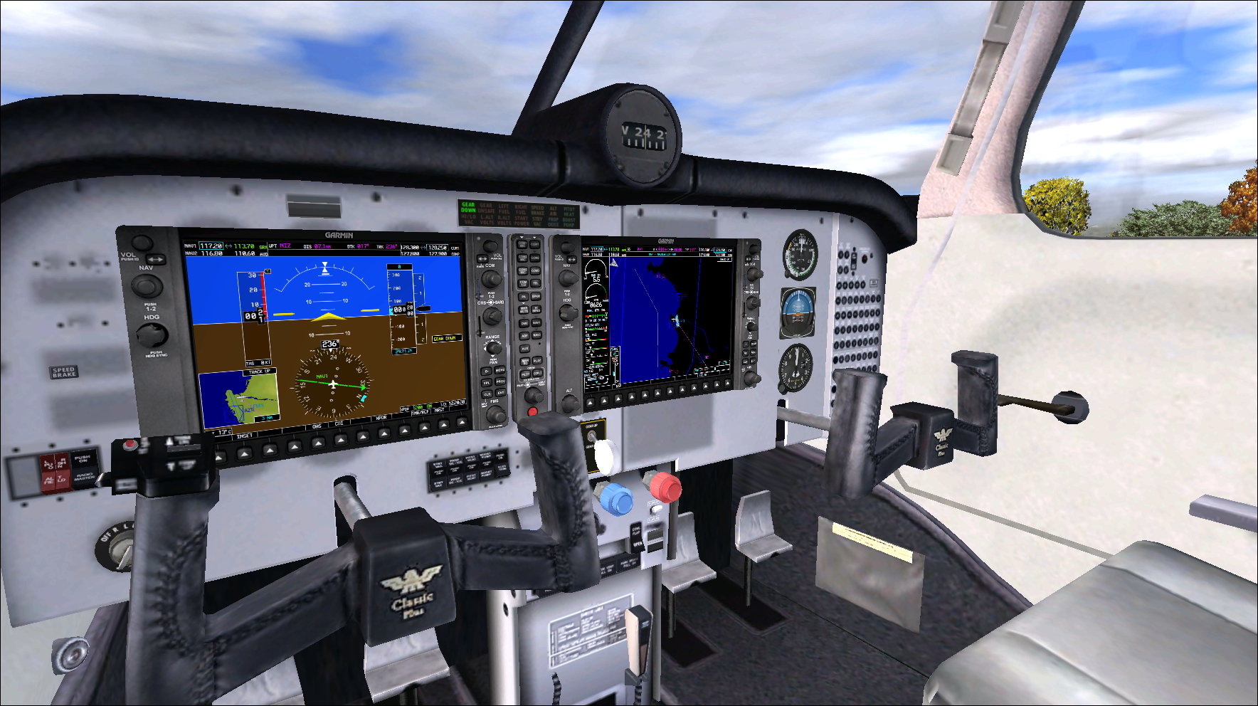PERFECT FLIGHT - PRIVATE FLIGHTS - MOONEY BRAVO FSX P3D