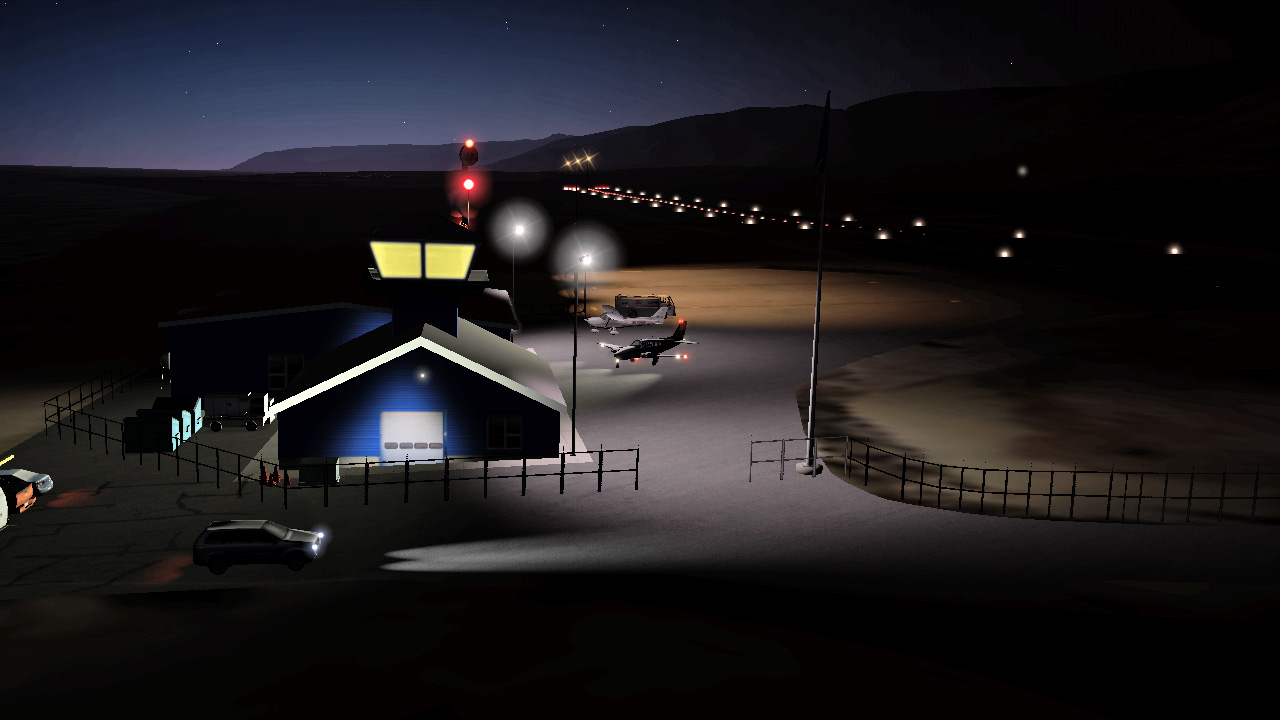 HSIMULATORS - QAANAAQ AIRPORT X-PLANE 11